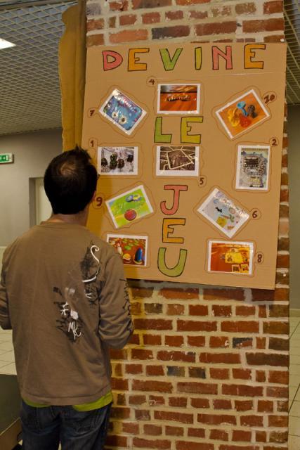 Animation devine le jeu a ludinord le festival du jeu et de la creation a lille